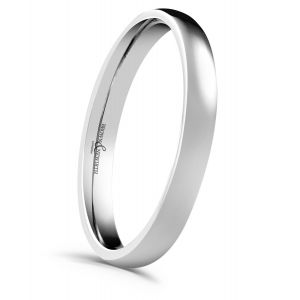 Brown & Newirth 'Simplicity' Platinum Wedding Band