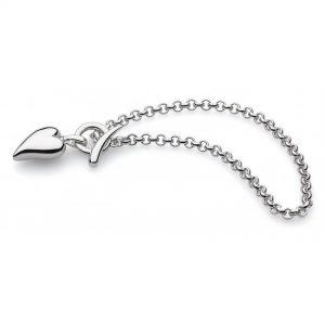 Kit Heath Desire Lavish Lust Heart T-Bar Bracelet