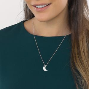 Kit Heath Miniature Super Moon Silver Necklace