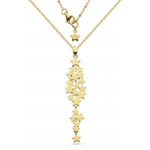 Kit Heath Stargazer Galaxy Gold Plate Necklace