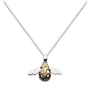 Kit Heath Gold Bumblebee Necklace 90339GD014