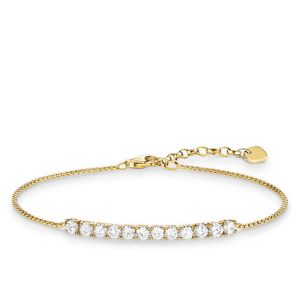 Thomas Sabo Gold Plated Tennis Bracelet