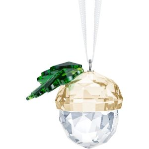 Swarovski Crystal Acorn Ornament