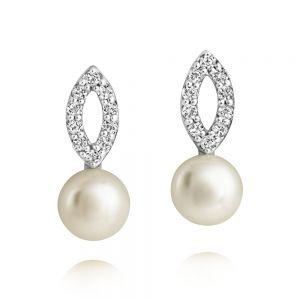 Jersey Pearl Amberley Open Cluster Earrings