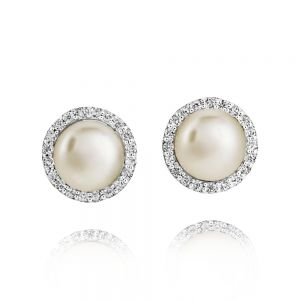 Jersey Pearl Amberley Cluster Earrings