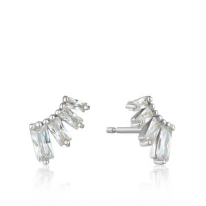 Ania Haie Glow Solid Drop Earrings, Silver E018-01H