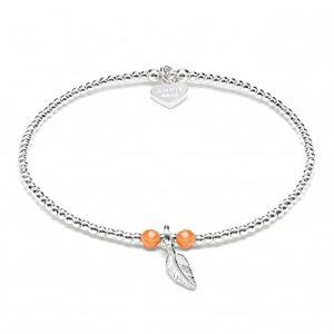Annie Haak Bulu Orange Bracelet