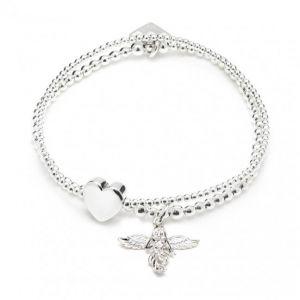 Annie Haak Bella Anna Silver Charm Bracelet - My Guardian Angel