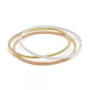 Annie Haak Gleaming Bracelet Stack