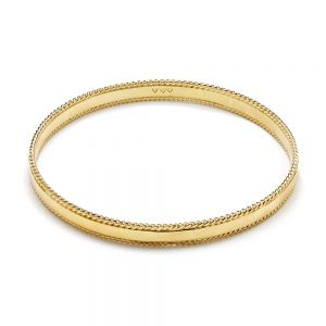Annie Haak Samara with a Twist Gold Bangle
