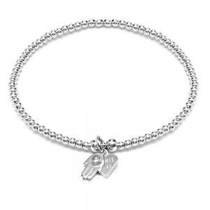 Annie Haak Santeenie Silver Fatima's Hand Bracelet