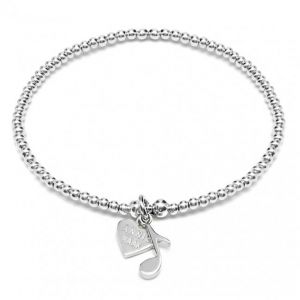 Annie Haak Santeenie Silver Music Note Bracelet