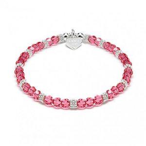 Annie Haak Swarovski Sparkle Bracelet - Fuschia