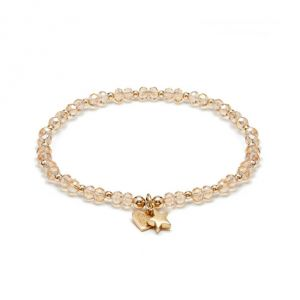 Annie Haak Cosmic Star Gold Charm Bracelet