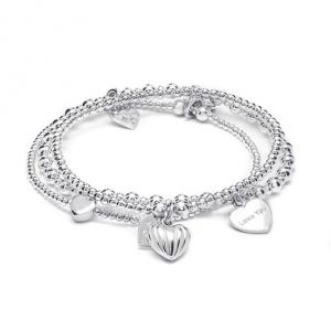 Annie Haak Hearts of Love Bracelet Stack