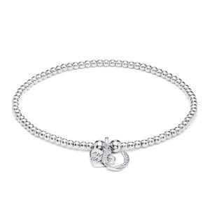 Annie Haak Santeenie Silver Charm Bracelet - Lucky Horseshoe