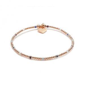 Annie Haak Serasi Multi Coloured Rose Gold Bracelet