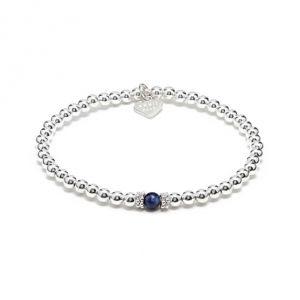 Seri Silver Bracelet - Lapis Lazuli
