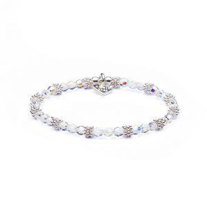 Annie Haak Swarovski Sparkle Silver and Crystal Bracelet