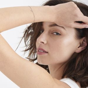 Ania Haie Shimmer Single Stud Bracelet - Silver