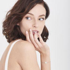 Ania Haie Emblem Beaded Bracelet, Silver