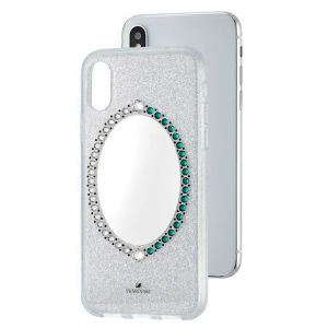 Swarovski Black Baroque Smartphone Case, iPhone® X/XS, Grey
