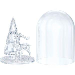 Swarovski Crystal Bell Jar - Pine & Stag