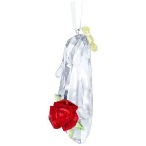 Swarovski Crystal Disney Belle Inspired Shoe Ornament