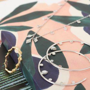 Ania Haie Dream Open Earrings - Silver