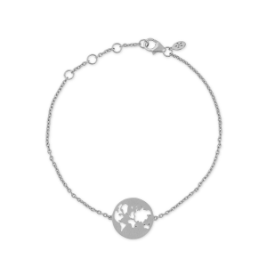 byBiehl Beautiful World Silver Bracelet