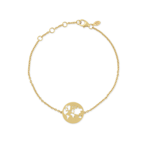 byBiehl Beautiful World Gold Bracelet
