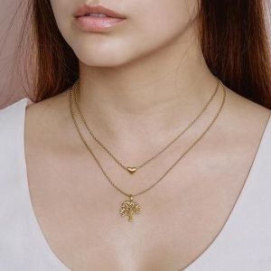 byBiehl Tree of Life Gold Necklace