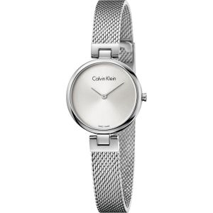 Calvin Klein Ladies Authentic Watch, Silver Tone