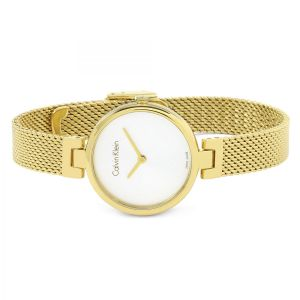 Calvin Klein Ladies Authentic Watch, Gold Tone