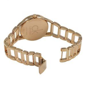 Calvin Klein Ladies Stately Watch, Rose Gold Tone