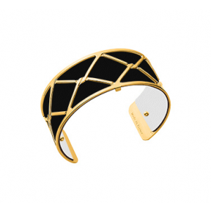 Les Georgettes Cannage 25 mm Gold Finish Bangle