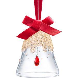Swarovski Crystal Christmas Bell Ornament, Small