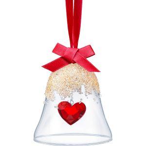 Swarovski Christmas Bell Ornament, Heart
