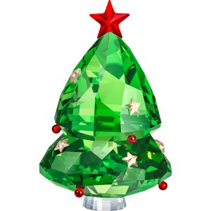 Swarovski Crystal Christmas Tree, Green
