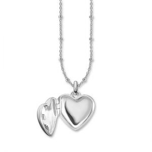 Thomas Sabo Silver Diamond Heart Locket