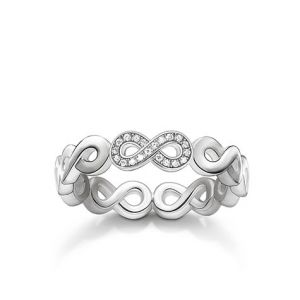 Thomas Sabo Diamond and Silver Infinity Ring