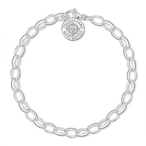 Thomas Sabo Charm Bracelet, Silver and Diamond