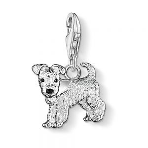Thomas Sabo Charm Pendant, Silver Dog