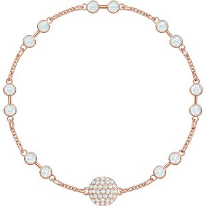 Swarovski Remix Collection Carrier, White, Rose Gold Plating