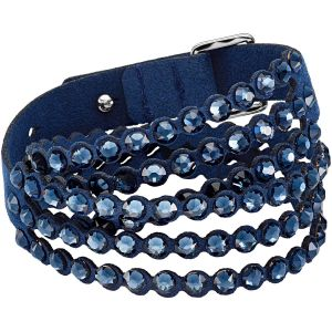Swarovski Power Collection Slake Bracelet, Blue