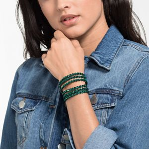 Swarovski Power Collection Slake Bracelet, Green