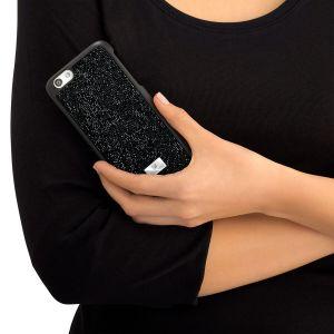 Swarovski Glam Rock Smartphone Case with Bumper, iPhone® Plus, Black