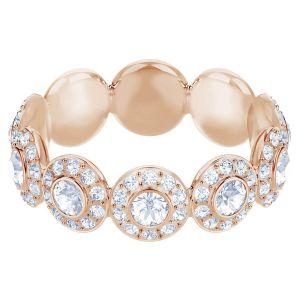 Swarovski Angelic Ring, White, Rose Gold Plating
