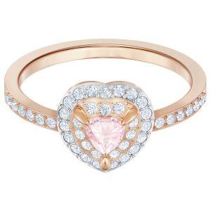 Swarovski One Ring, Multi-Coloured, Rose Gold Plating