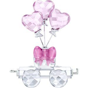 Swarovski Crystal Heart Balloons Wagon